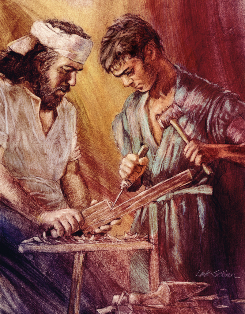 Jesus and Joseph the carpenter dans immagini sacre 5ee0a09b310997bf083ecfd8f194ffc8